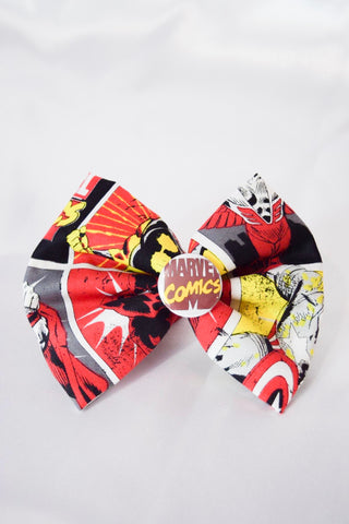 Marvel Comics Hair Bow