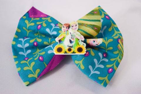 Sunflower Sisters Hair Bow