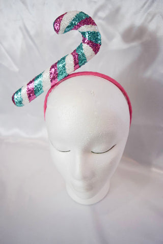 SALE Pink Candy Cane Headband