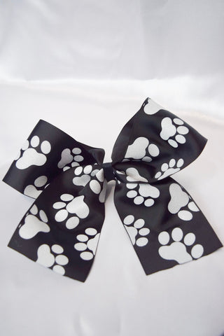 Large Fur Baby Hair Bow