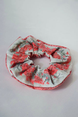 Reversible Christmas Hair Scrunchie