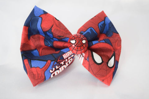 Spider Hero Hair Bow