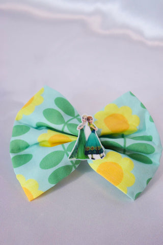 Frozen Summer Hair Bow