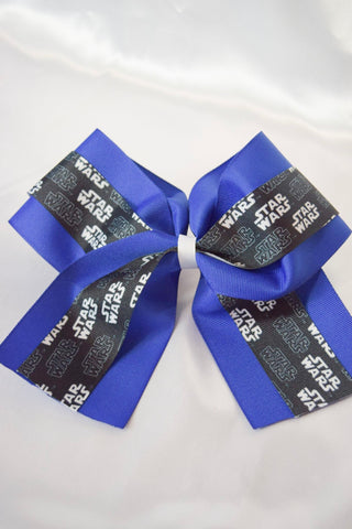 Wars Blue Big Bow