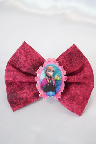 Winter Princess Hair Bow