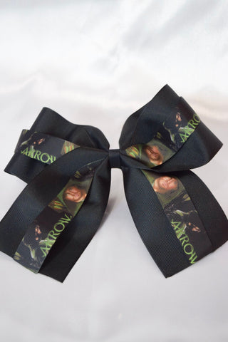 Archery Vigilante Hair Bow