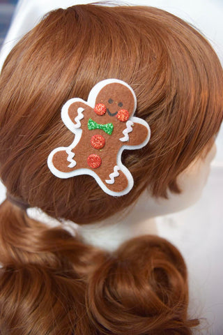 Happy Gingerbread Christmas Feltie