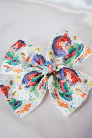 XL Mermaid Hair Bow