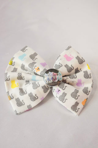 Pastel Cat Hair Bow