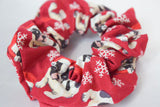 Christmas Puppy XL Scrunchie
