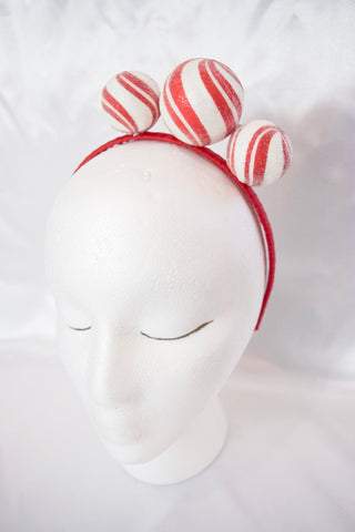 Peppermint Ball Headband