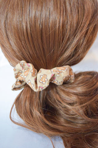 Gingerbread Hair Scrunchie