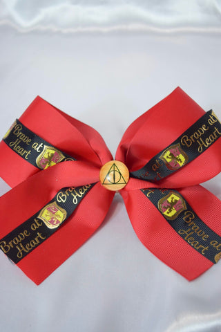 HP Gryffindor Hair Bow