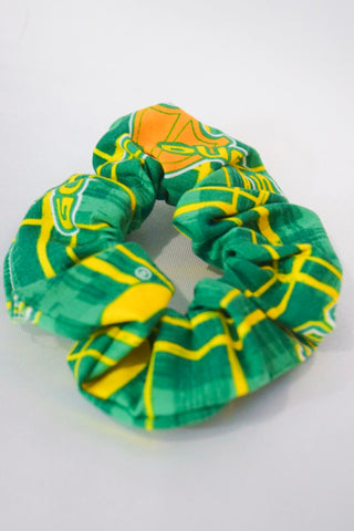 Oregon Collage Hair Scrunchie