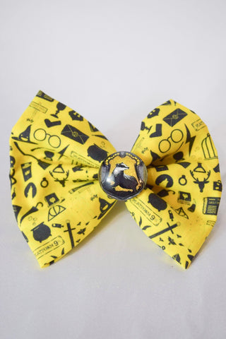Badger House Hair Bow