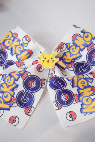 Large Pokémon Go Hair Bow