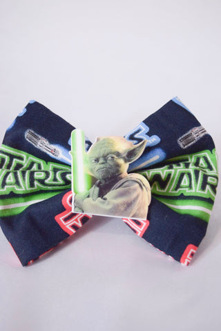 Jedi Lightsaber Hair Bow