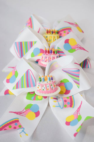 Happy Birthday! Hair Bow
