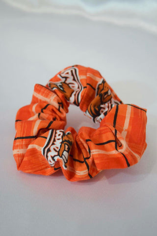 Beaver Hair Scrunchie Oregon School Inspired