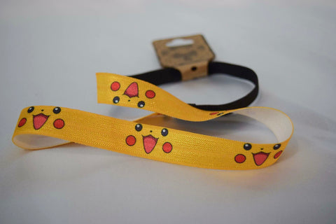 """Pocket Monster"" inspired elastic headband"