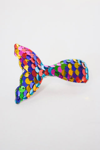 Flip Sequins Rainbow Mermaid Clip