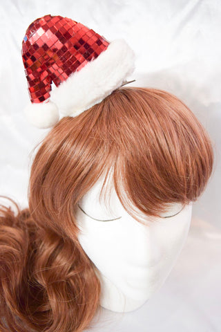 Clip on Santa Hat