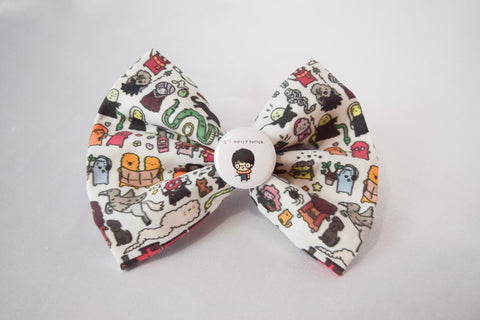 Potter Cartoons Hair Bow