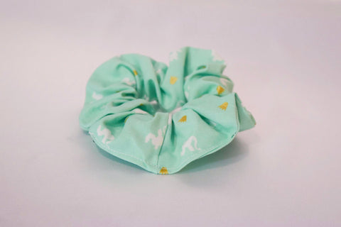 Dragon Hair Scrunchie Light Blue