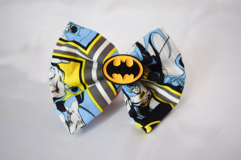 Bat Hero Hair Bow