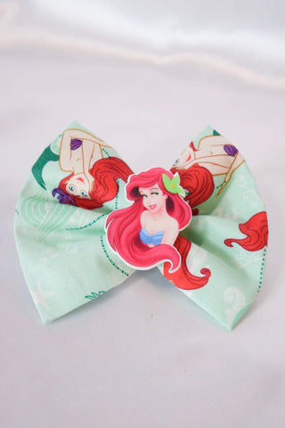 Young Mermaid Hair Bow