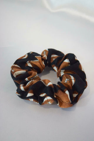 Football Hair Scrunchie