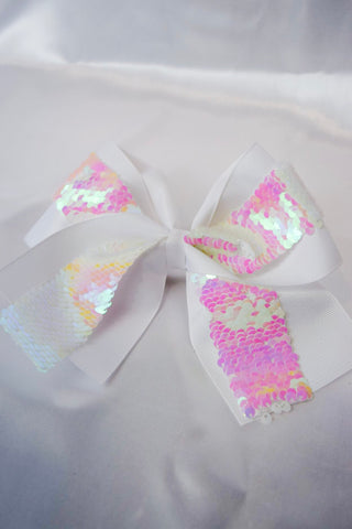 Mermaid Sequins Hair Bow