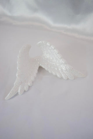 Large Angel Wings Hair Clip