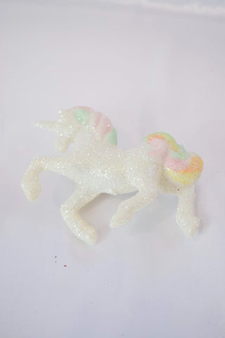 Unicorn Glitter Hair Barrette