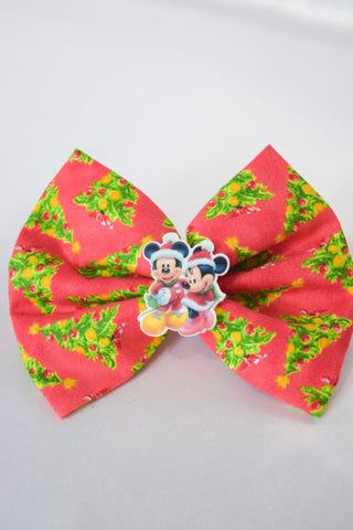Christmas Mouse Hair Bow