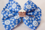 Gingerbread House Hair Bow