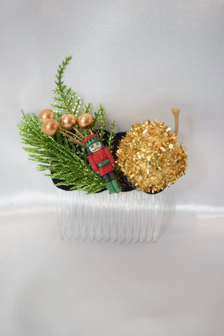 Nutcracker Hair Comb