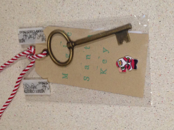 Magic Santa Key, for those with no chimneys.