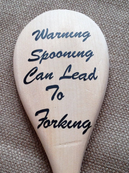 Large Funny or Offensive Wooden Spoon, Novelty Gift, Joke Present