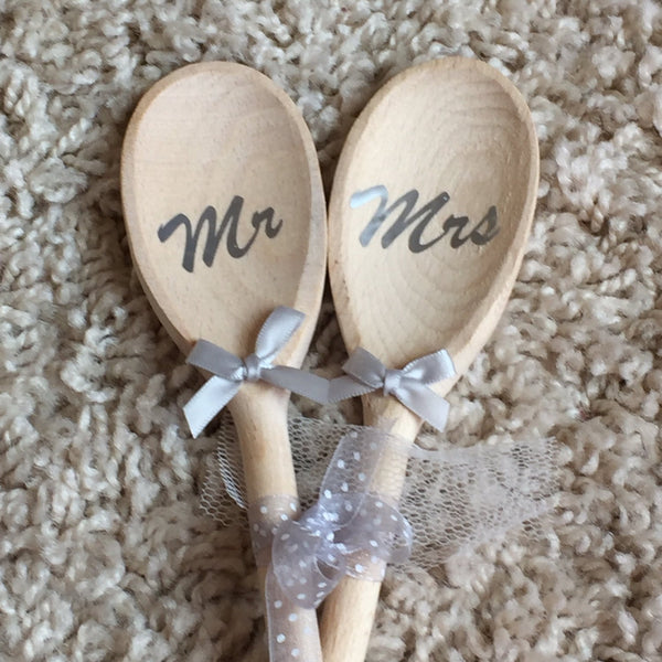 Wedding Spoons, Love Spoons, Personalised Spoons, Fun And Quirky Gift