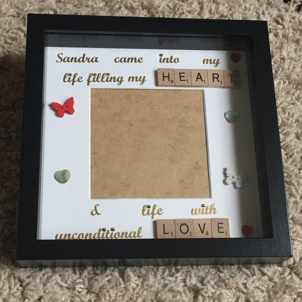 Memory Frame, Memorial Frame, Photo Frame for loved one, Memory Photo Frame, Love Lost Frame, Bereavement Gift