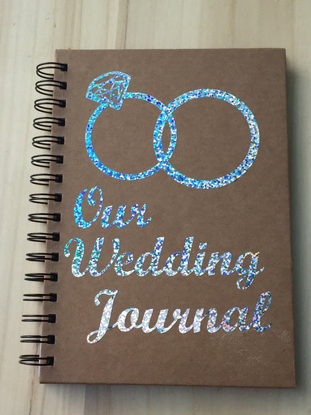 Wedding Planner Notebook, Wedding Journal, Wedding Notebook, Personalised Wedding Book