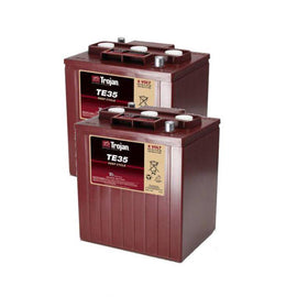 2x Trojan Deep Cycle Battery - TE35 6V 245Ah