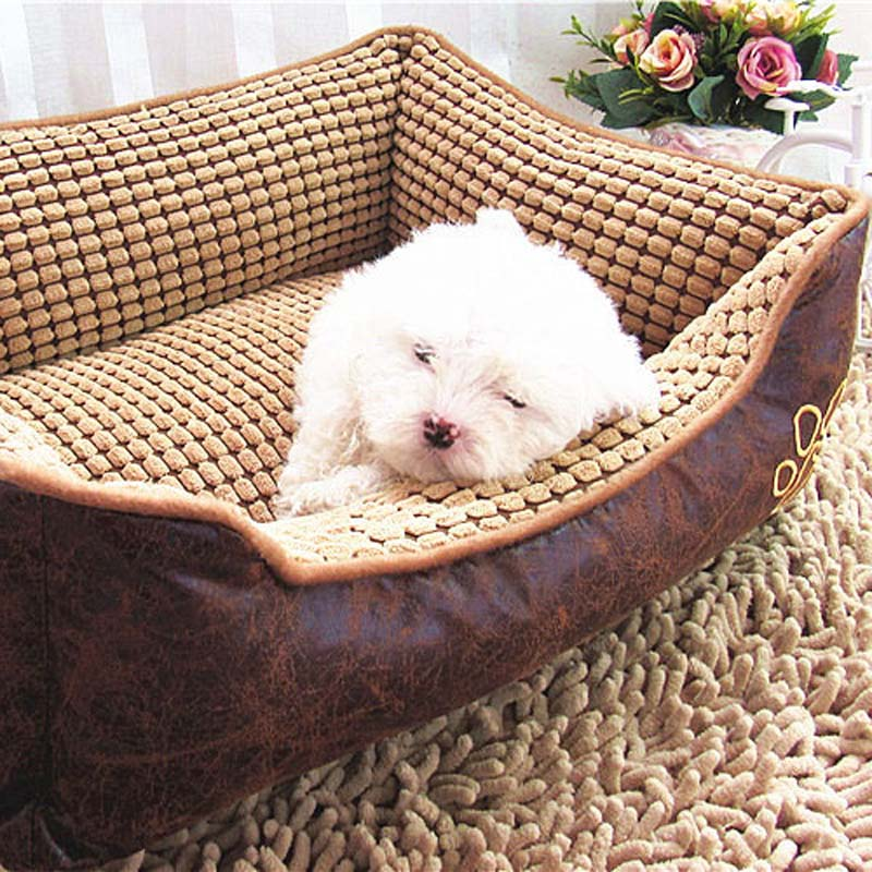 Big Size Large Dog Bed House Washable Pet Cat Sofa Kennel Waterproof Surface Indoor Pet Products for All Seasons