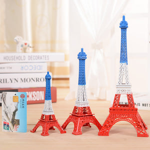 Creative Europe Bronze Paris The Eiffel Tower Model Metal Home Decoration Accessories Figurines Miniatures Furnishing Craft Gift