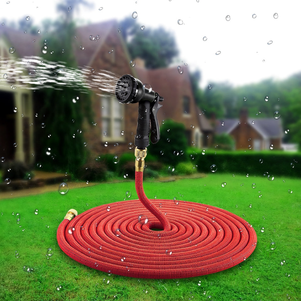 25-100 FT Expandable Garden Hose Magic Flexible Watering Hose With Spray Nozzle tuinslang jardim watering hose