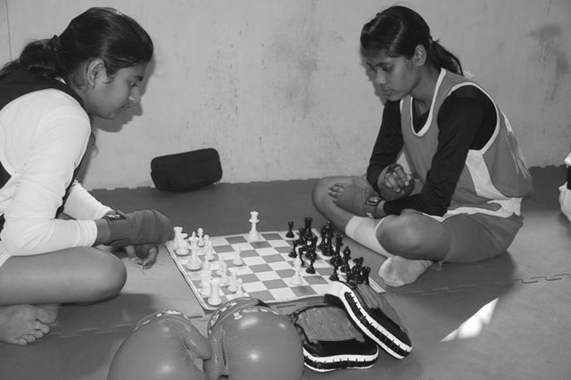 Chess Boxing Offers a Way Out of Poverty for Young Women in India
