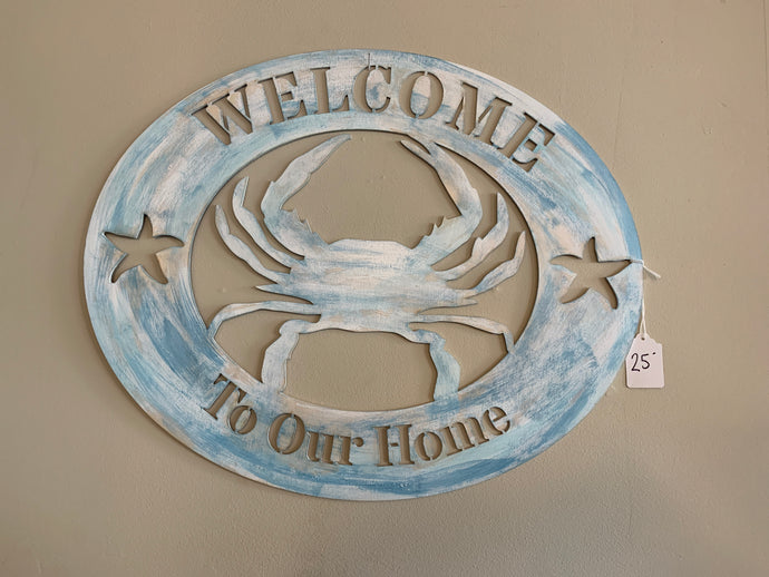 Crab-Welcome to our Home
