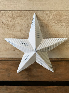 "8"" Corrugated Star"