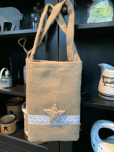 Fabric Bag w/ Star Fish